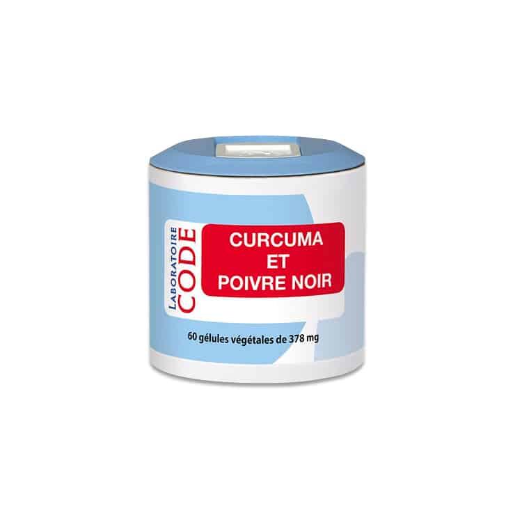 Curcuma/poivre noir