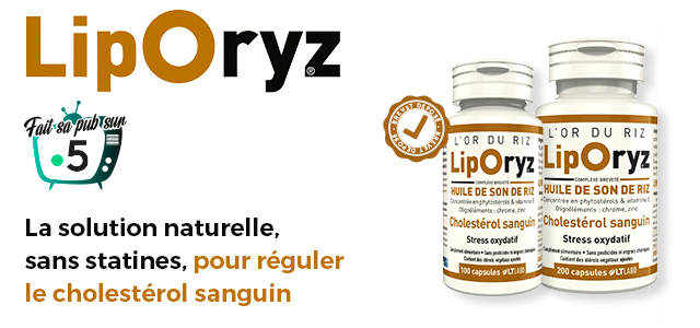 LIPORYZ, la solution naturelle sans statines